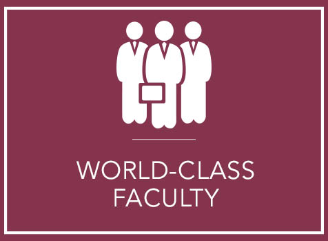 World-Class Faculty