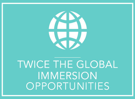 Twice the Global Immersion Opportunities