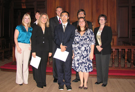 MAcc Students inducted into Beta Gamma Sigma