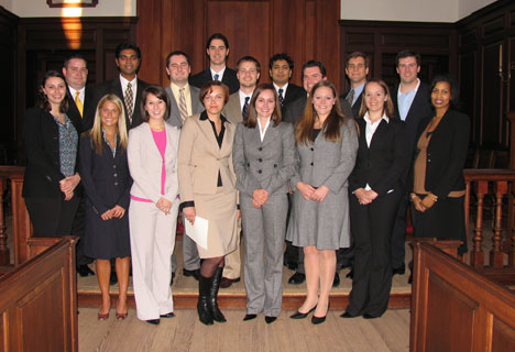 MBA Students inducted into Beta Gamma Sigma