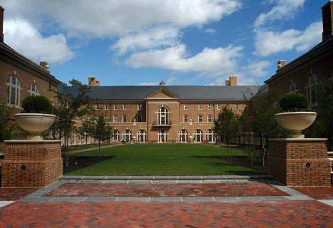Miller Hall Courtyard