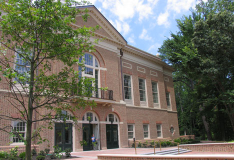 The front of Miller Hall