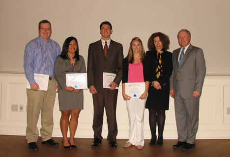 Master of Accounting Inductees