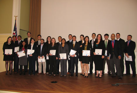 Full-Time MBA Inductees