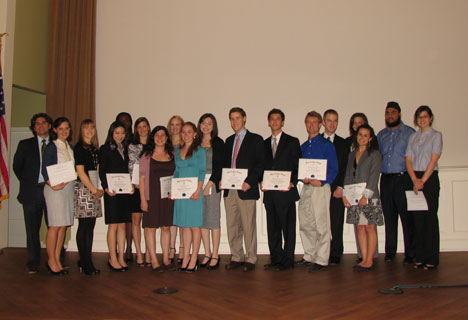 Undergraduate Inductees