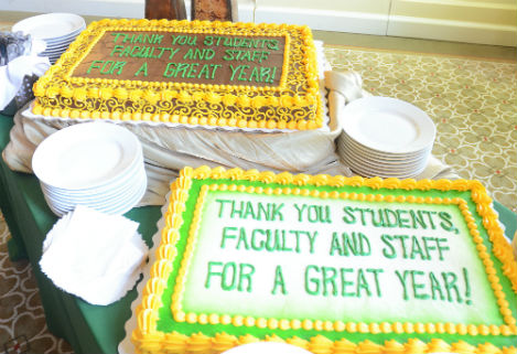 Thank you students, faculty and staff for a great year!