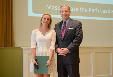 Mason Blaze The Path Leadership Award