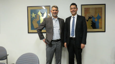 Doppelgangers? Mark Mahar, EY's National Office, and Mark Marzzioti, EY's new hire!
