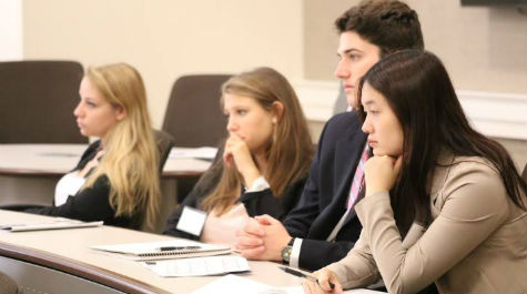 Students had the opportunity to attend a variety of panels and networking events.